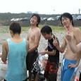 海水浴に行きました!