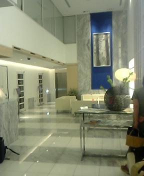 ホテルに着きました