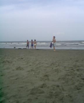 大洗サンビーチで海水浴!