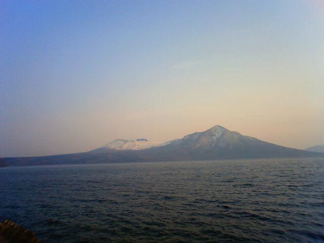 支笏湖周りで定山渓に来ています
